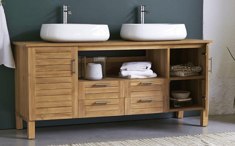 choisir meuble double vasque