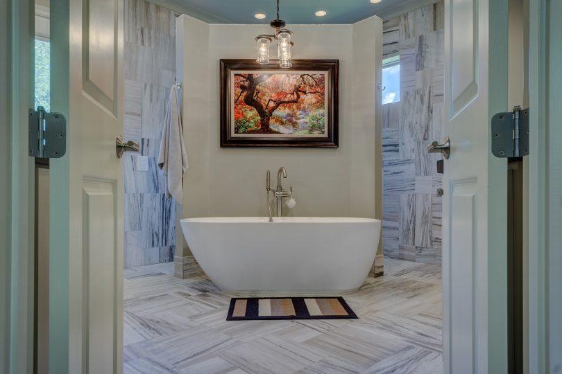 revêtements de sol pour une salle de bains